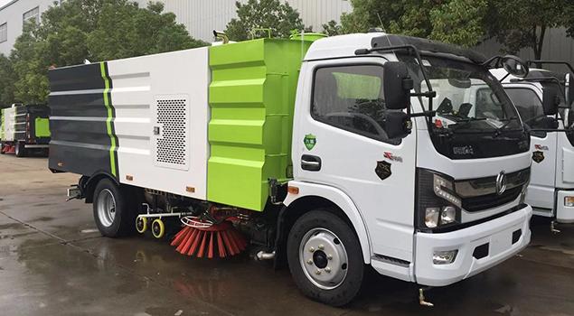 东风凯普特8吨洗扫车