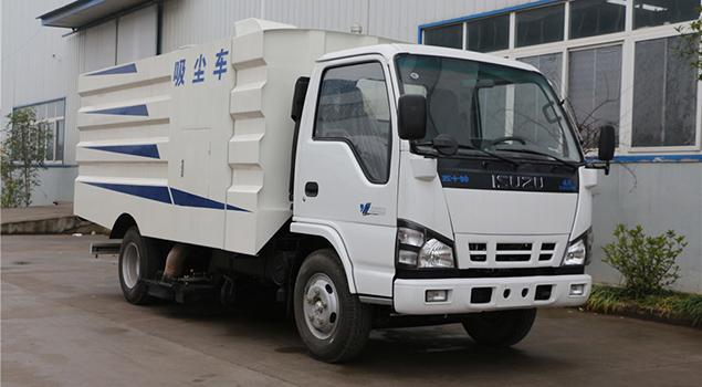 福田2.5方吸尘车