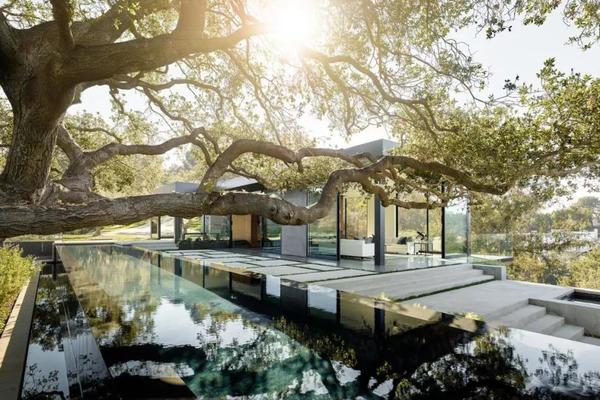 简约与自然结合丨打造不一样大宅美貌丨威盾门窗