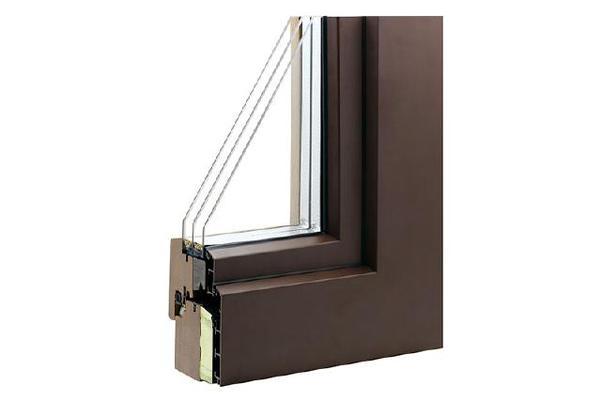 汉堡(被动窗)铝包木窗