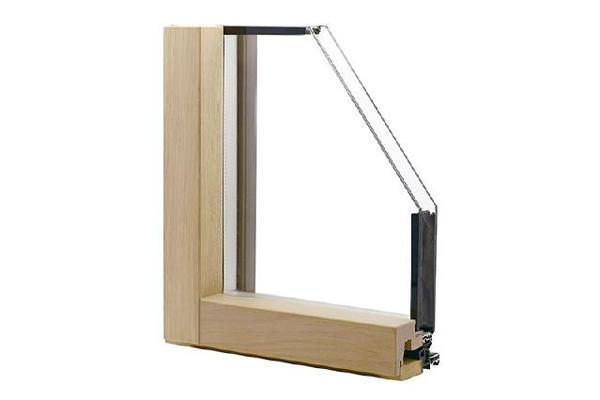 科莫(进口窄框)铝包木窗
