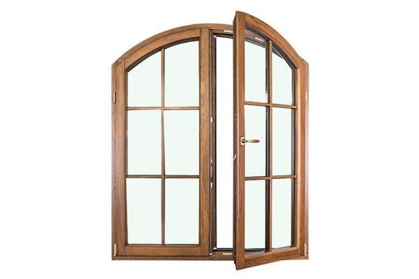 异型窗铝包木窗/实木窗