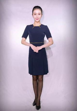 重庆空港地服女士连衣裙