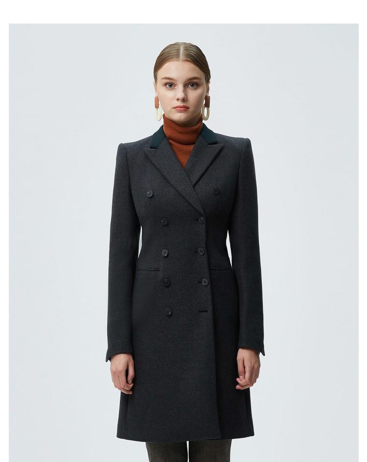 重庆女士时尚职业装大衣定做