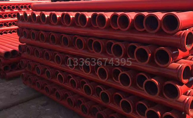 混凝土输送泵管的图片
