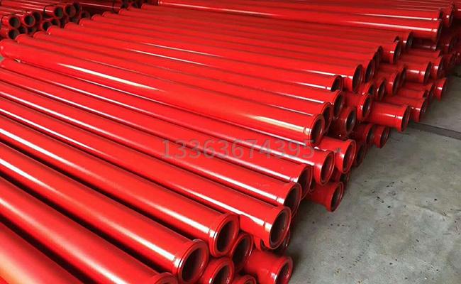 混凝土泵管每米多重