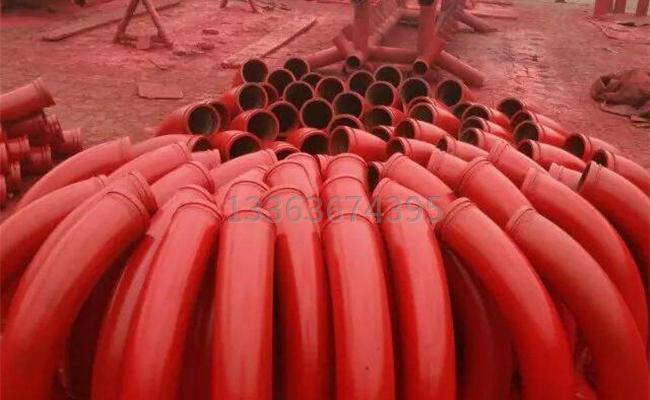 500拖泵弯管