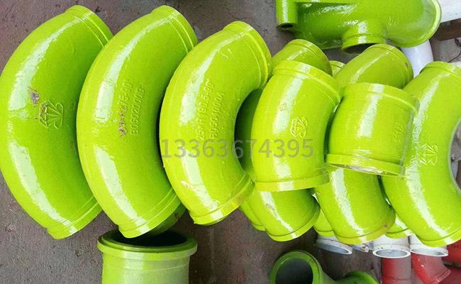 泵車泵管如何區分彎頭多少度