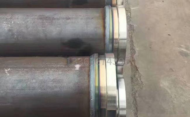 地泵管的焊接接口