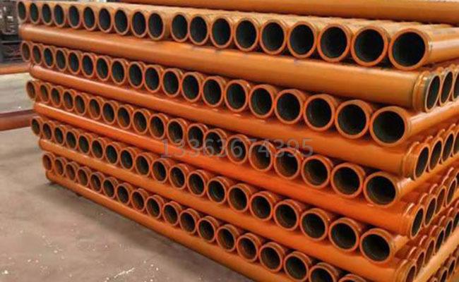 3米长度的DN125车载泵管