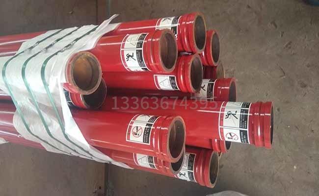 多种长度的泵车泵管