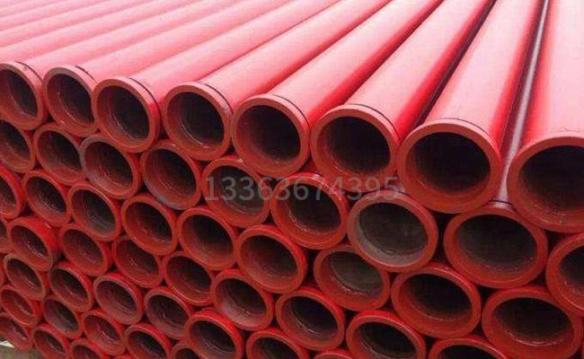 DN125规格的直缝地泵泵管