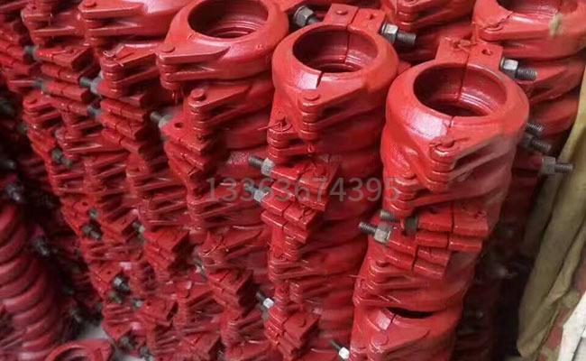 DN80规格的泵管管卡