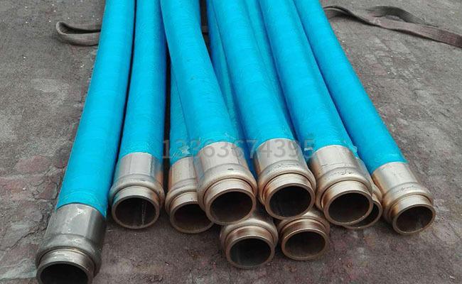 3米DN125泵车胶管的图片