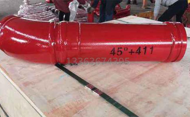 泵车弯直管的图片
