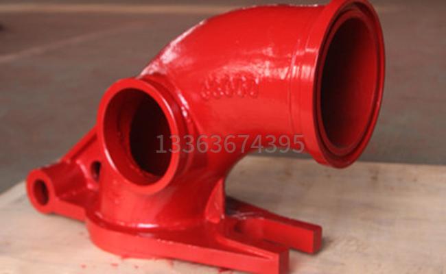泵车铰链弯管的图片