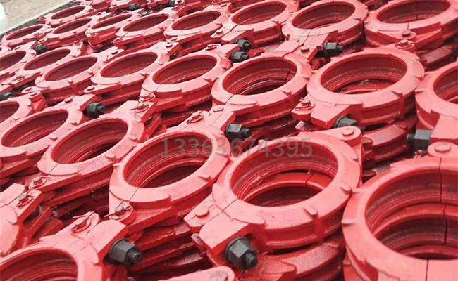 DN125泵车管卡的图片