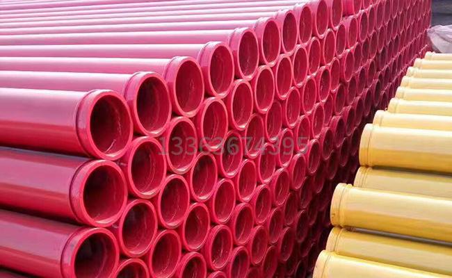 耐磨地泵管的图片