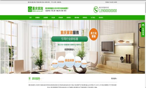 家政网站主题模板1