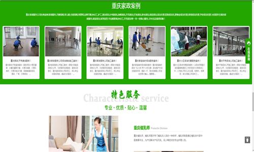 家政网站主题模板5