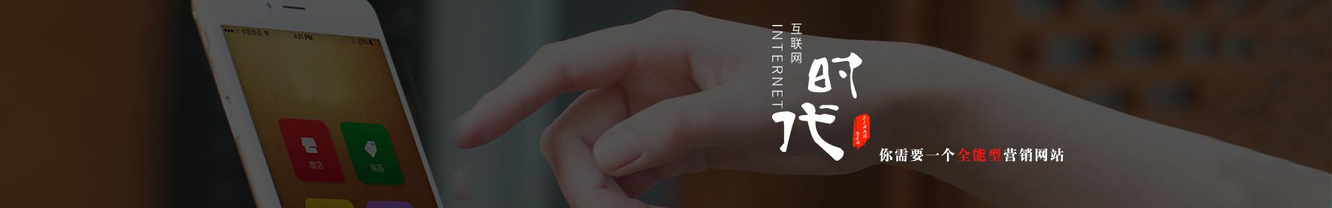 定制建站品牌网页设计