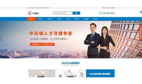 广东万诚品牌形象网站案例