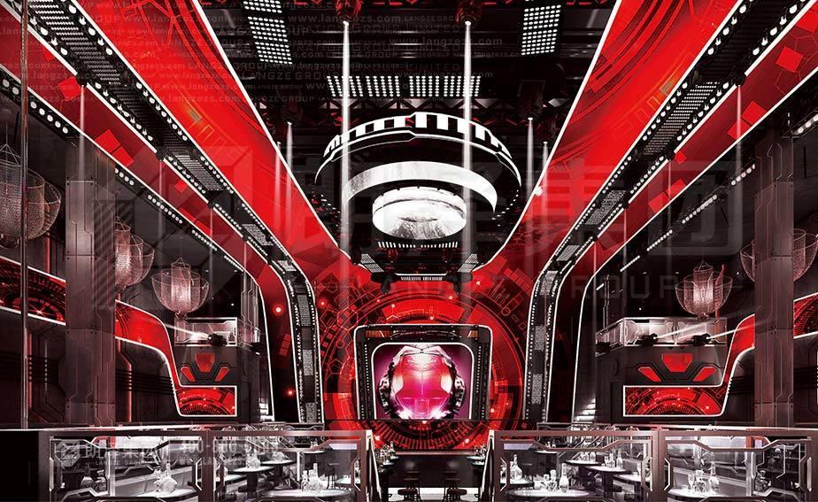 加拿大温哥华太阳神酒吧设计装修由朗泽集团出品