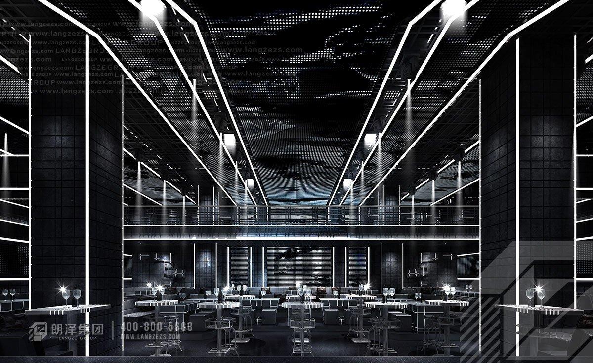 工业风酒吧装修效果图