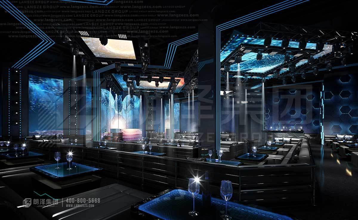 乌托邦风格酒吧装修设计效果图