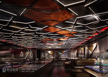 廊坊SIX酒吧设计方案及效果图