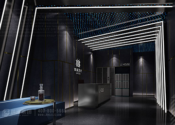 广东陆丰乐巢派对酒吧设计案例及效果图