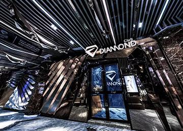 广 州DIAMOND CLUB酒吧设计方案及效果图