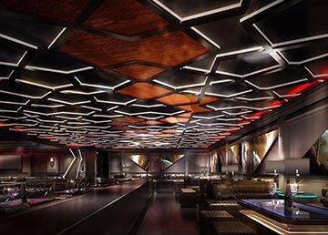 廊坊SIX商务酒吧设计理念及效果图