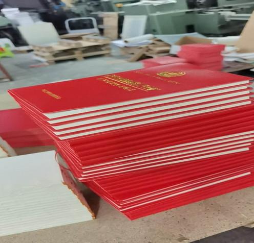 皮革证书包装设计
