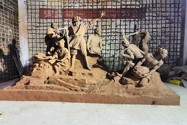 城市人物景观雕塑
