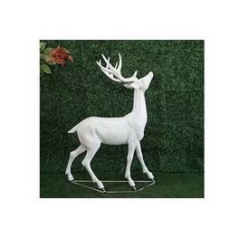 梅花鹿雕塑