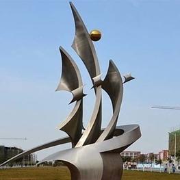 学校不锈钢雕塑制作