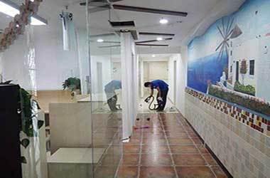 蔡甸武汉办公室除甲醛案例