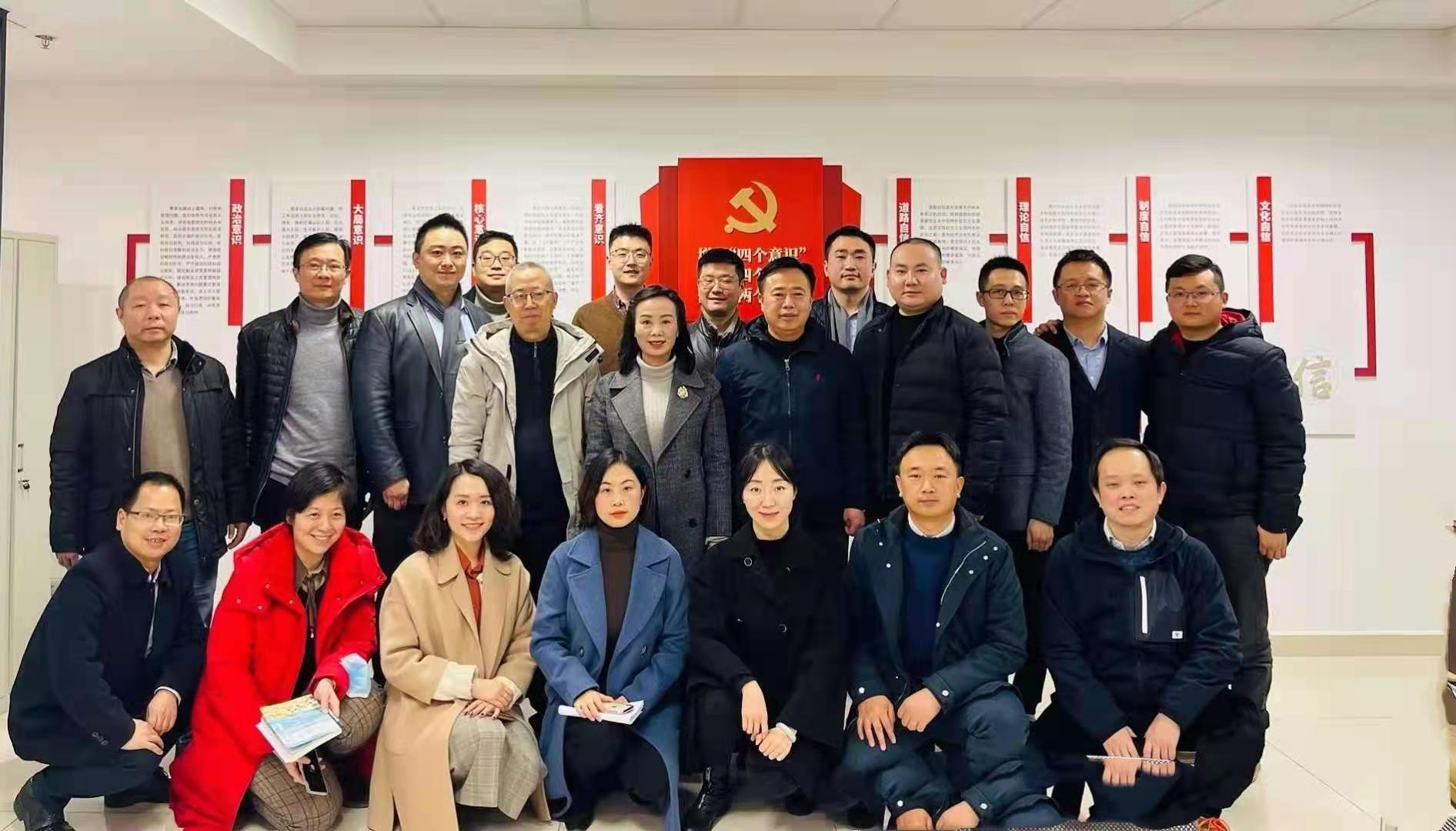 省经济合作局党组成员、省经济合作促进中心主任谢贤荣调研四川省归国人士企业联合会