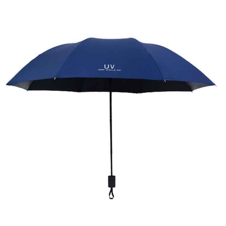 精品轻便袖珍迷你太阳五折折叠伞蔗阳伞加工拼装