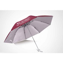 手动收缩双人广告三折叠伞晴雨两用定制印字
