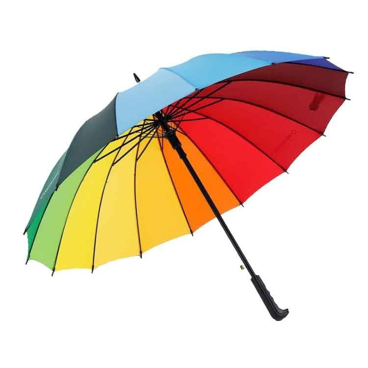 外贸皮革直柄直杆礼品伞订制标识标志订做订购