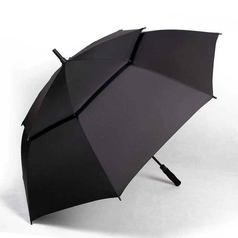 超大号双层高尔夫雨伞防风抗风商务商用定制款