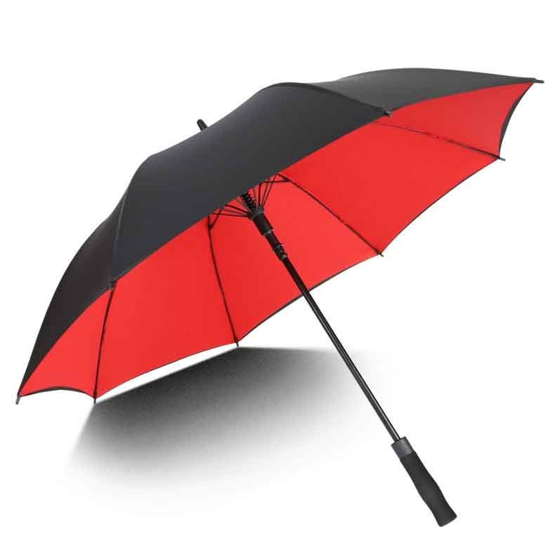 30寸8k加大防水碰击布广告高尔夫伞订购生产商