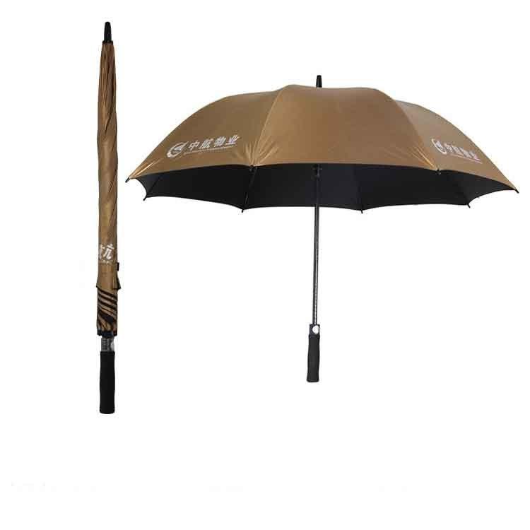 防晒防UV房地产高尔夫大伞定制印标印字包邮