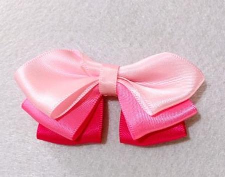 diy satin ribbon bow