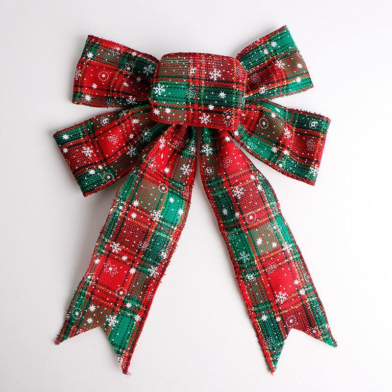 burlap ribbon bow (4)