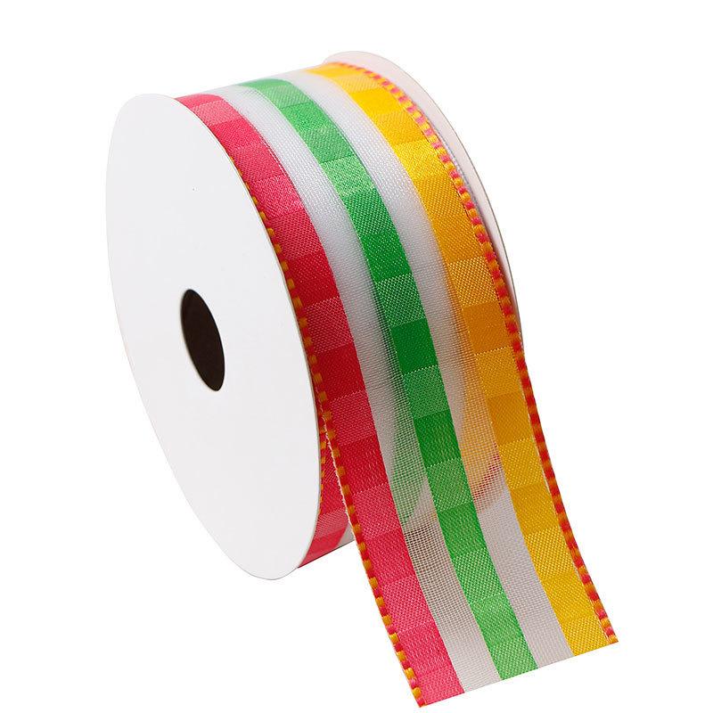 wired organza ribbon