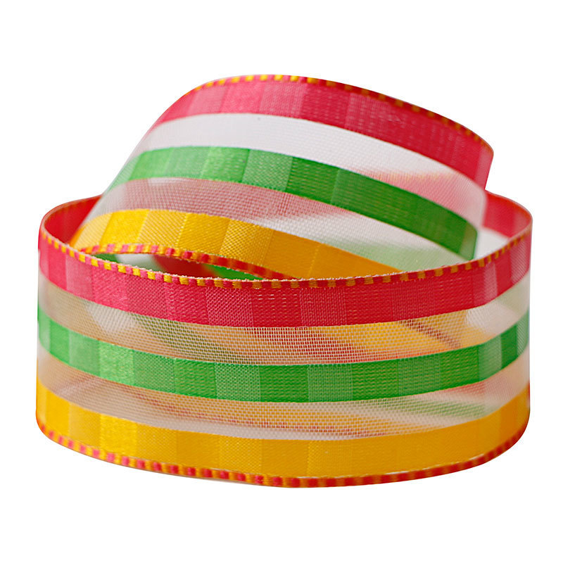 1-1/2 organza ribbon