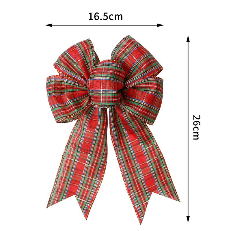 pre tied burlap ribbon bow